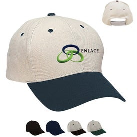 Promotional Heavy Brushed Cotton Twill Cap