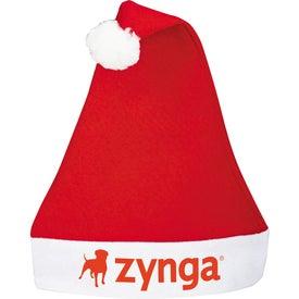 Logo Holiday Santa Hat