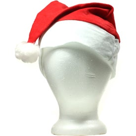 Promotional Holiday Santa Hat