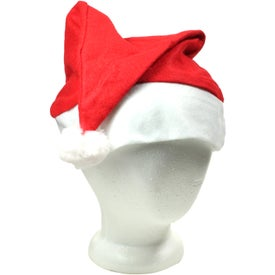 Promotional Holiday Santa Hat