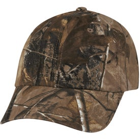 Hunter's Hideaway Camouflage Cap for Advertising