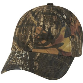 Hunter's Hideaway Camouflage Cap for Promotion