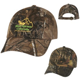 Branded Hunter's Hideaway Camouflage Cap