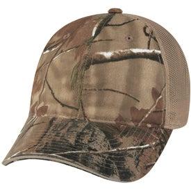 Printed Hunter's Hideaway Mesh Back Camouflage Cap
