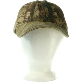 Hunter's Hideaway Mesh Back Camouflage Cap with Your Slogan