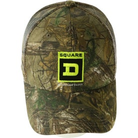Printed Hunter's Retreat Mesh Back Camouflage Cap