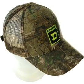 Logo Hunter's Retreat Mesh Back Camouflage Cap