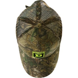 Personalized Hunter's Retreat Mesh Back Camouflage Cap