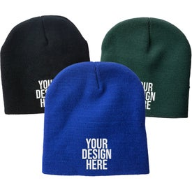 Knit Beanie Cap with Your Logo