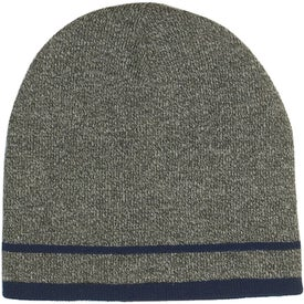 Promotional Customizable Knit Beanie with Stripe