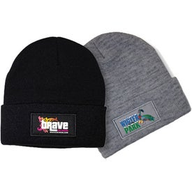 Knit Hat (Unisex, Full Color Logo)