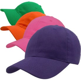 Lightweight Brushed Cotton Twill Hat (Velcro)