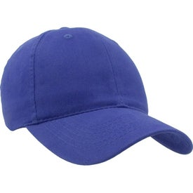 Lightweight Brushed Cotton Twill Hat with Your Slogan