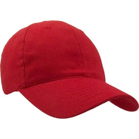 Monogrammed Lightweight Brushed Cotton Twill Hat