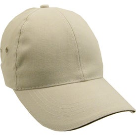 Advertising Lightweight Brushed Cotton Twill Sandwich Cap