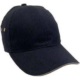 Lightweight Brushed Cotton Twill Sandwich Cap for Your Company