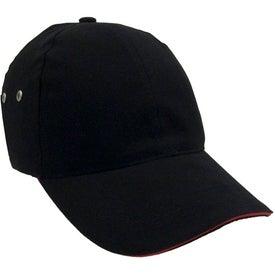 Monogrammed Lightweight Brushed Cotton Twill Sandwich Cap