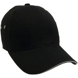Customized Lightweight Brushed Cotton Twill Sandwich Cap