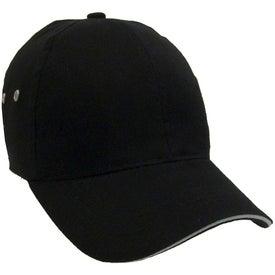 Customized Lightweight Brushed Cotton Twill Sandwich Cap