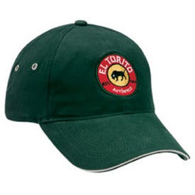 Lightweight Brushed Cotton Twill Sandwich Cap