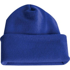 Long Knit Watchcap Beanie with Your Logo