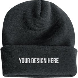 Long Knit Watchcap Beanie for Customization