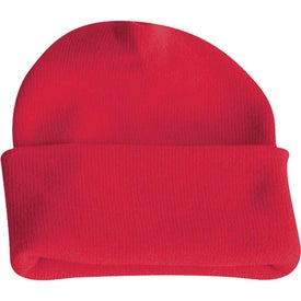 Long Knit Watchcap Beanie for Advertising