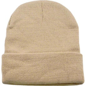 Personalized Long Knit Watchcap Beanie