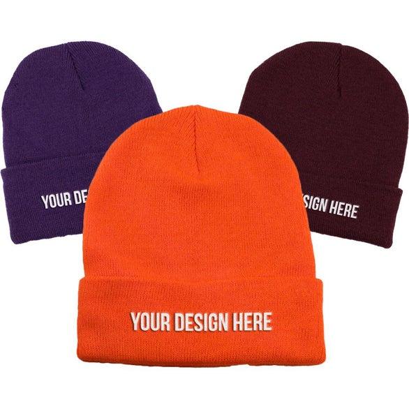 61306babafc Custom Winter Hats   PCustom beanies