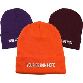 Long Knit Watchcap Beanie