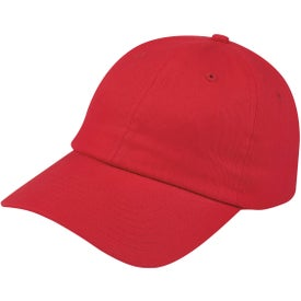 Logo Low Profile Brushed Cotton Twill Cap