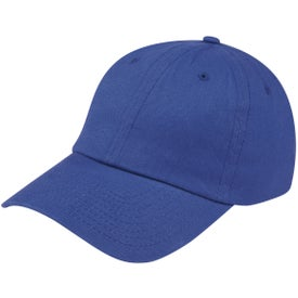 Customized Low Profile Brushed Cotton Twill Cap