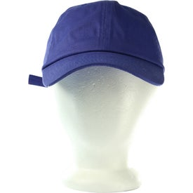 Low Profile Brushed Cotton Twill Cap Printed with Your Logo
