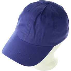 Company Low Profile Brushed Cotton Twill Cap