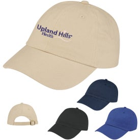 Low Profile Brushed Cotton Twill Cap with Your Logo