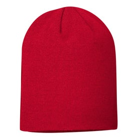 Luge Knit Cap with Your Slogan