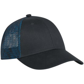 Personalized Metallic Mesh Back Cap