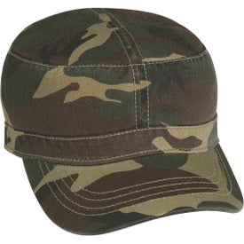Military Cap with Your Slogan