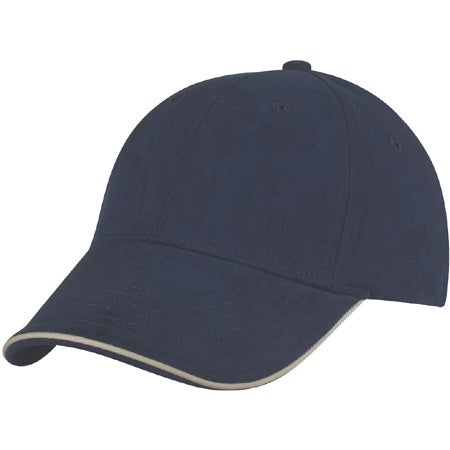 nu fit brushed cotton fitted sandwich cap custom
