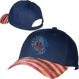 Patriotic 6 Panel Hat (Unisex)