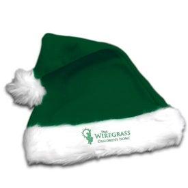 Logo Plush Santa Hat