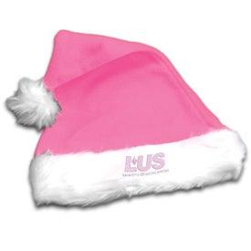Company Plush Santa Hat