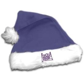 Plush Santa Hat Giveaways