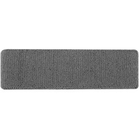 Branded Plush Terry Sport Headband