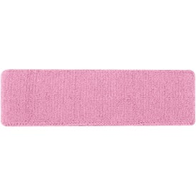 Plush Terry Sport Headband with Your Slogan