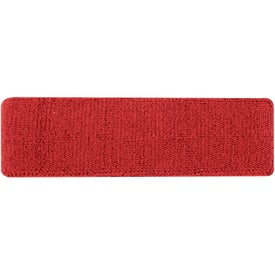Plush Terry Sport Headband for Customization