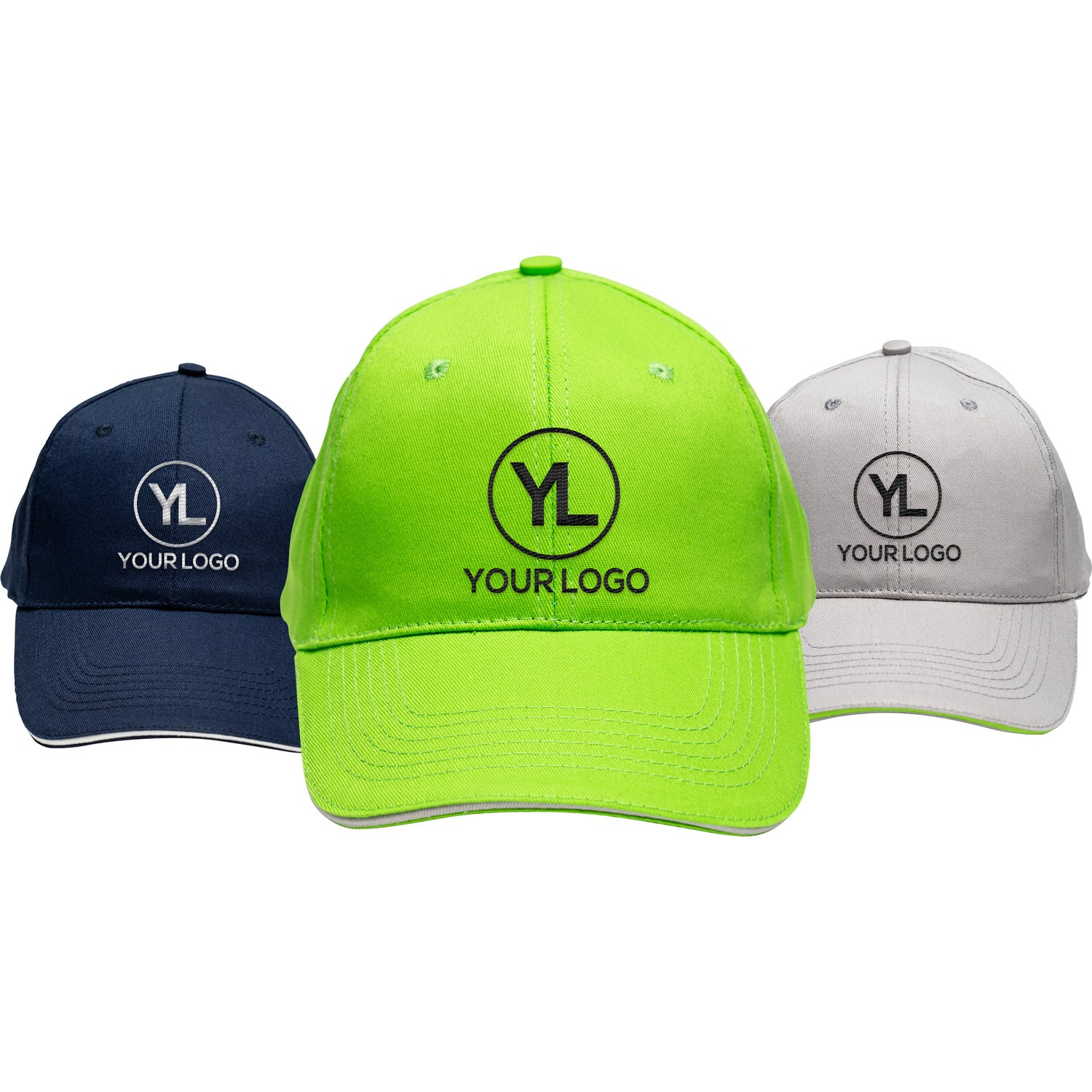 Polyester 6 Panel Structured Cap