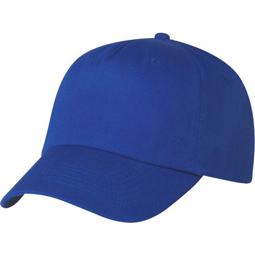 Royal Blue 5 Panel Polyester Cap