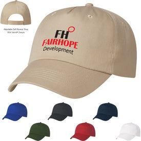 5 Panel Polyester Cap for your School
