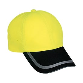 Monogrammed Port Authority Safety Cap